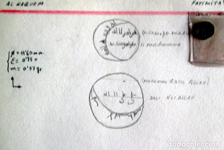 AL HAQUEM BEN AL AZIZ -1/4 D. FATIMITA - PLATA (Numismática - Hispania Antigua - Hispano Árabes)