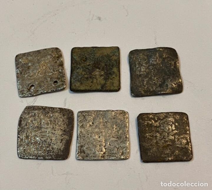MONEDAS DE PLATA DIRHAN (Numismática - Hispania Antigua - Hispano Árabes)