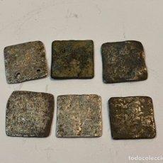 Monedas hispano árabes: MONEDAS DE PLATA DIRHAN. Lote 210271546