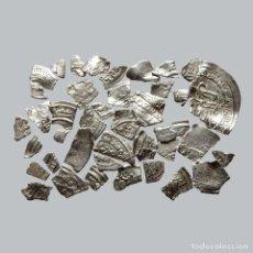 Monedas hispano árabes: CONJUNTO DE FRAGMENTOS DE DIRHAM, PERIODO OMEYA, (10 G). B141-LM. Lote 211453605
