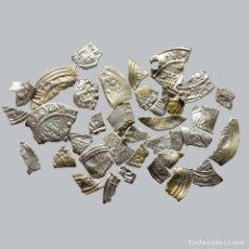 Monedas hispano árabes: CONJUNTO DE FRAGMENTOS DE DIRHAM, PERIODO OMEYA, (10 G). B131-LM. Lote 211453627