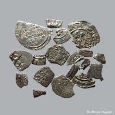 Monedas hispano árabes: CONJUNTO DE FRAGMENTOS DE DIRHAM, PERIODO OMEYA, (10 G). B50-LM. Lote 211453695