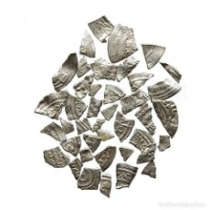 Monedas hispano árabes: CONJUNTO DE FRAGMENTOS DE DIRHAM DEL PERIODO OMEYA, (6,60 G).A57-LM. Lote 211453894