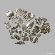 Monedas hispano árabes: CONJUNTO DE FRAGMENTOS DE DIRHAM DEL PERIODO OMEYA, (6,60 G).A48-LM. Lote 211453907