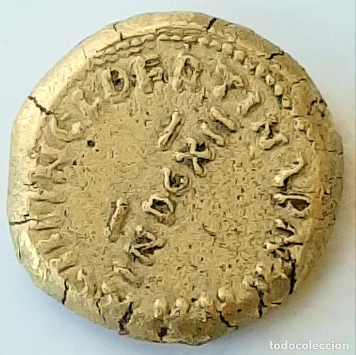 Monedas hispano árabes: Dinar Electro al-Walib e Ibn Abd al-Malik. Indicción 12. Y Dirhem Cuadrangular - Foto 8 - 214552523