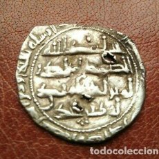 Monedas hispano árabes: BONITO DIRHAM ANDALUSI DE PLATA. Lote 215965561