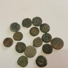 Monedas hispano árabes: LOTE MONEDAS MEDIEVALES HISPANO ÁRABES. Lote 217834272