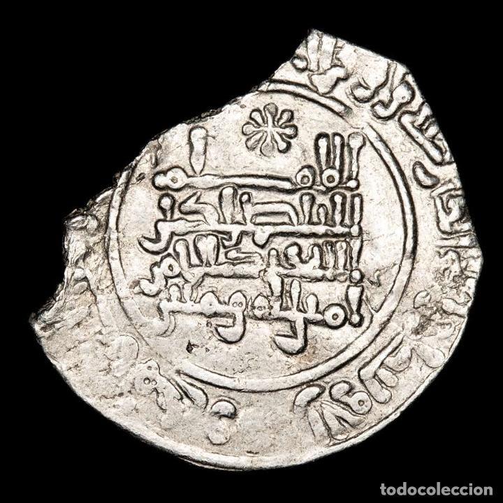 Monedas hispano árabes: Califato de Córdoba, Abd al Rahman III, dirham. 331 H. 191-DIR - Foto 2 - 213716310