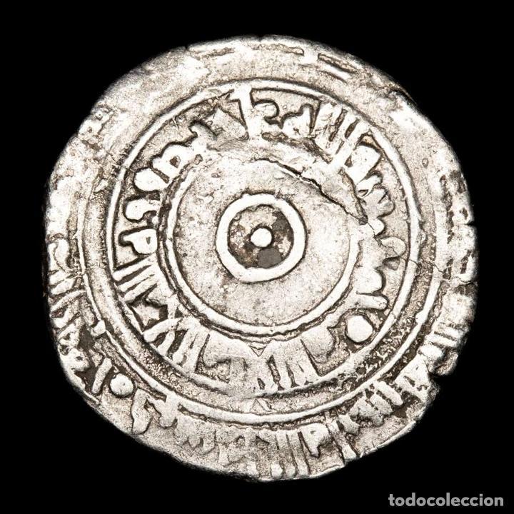Monedas hispano árabes: Califato Fatimi en Egipto 1/2 Dirham - Al-Aziz 975-995 d.C. - Foto 2 - 213718091