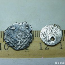 Monedas hispano árabes: DIRHAM DE PLATA Nº 2 Y Nº 3 A CATALOGAR . (ELCOFREDELABUELO). Lote 221444993