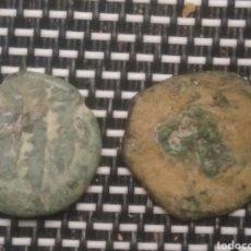 Monedas hispano árabes: MONEDAS HISPANOÁRABE CON CITAS DEL CORAN. Lote 221869715