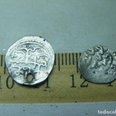 Monedas hispano árabes: 2 DIRHAM DE PLATA, Nº 8 Y Nº 9. (ELCOFREDELABUELO). Lote 230097810