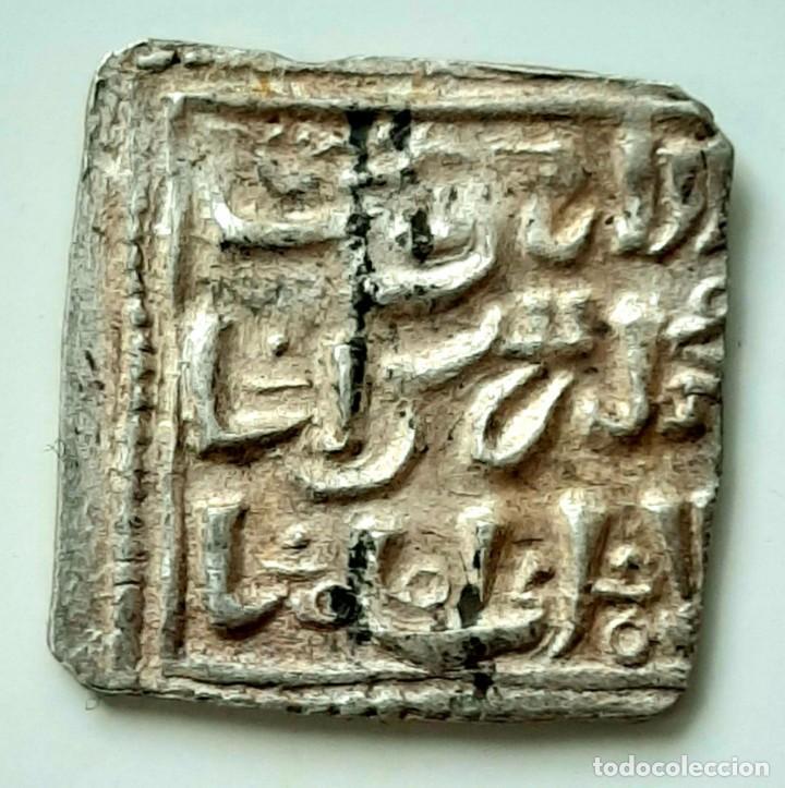 Monedas hispano árabes: Dinar Electro al-Walib e Ibn Abd al-Malik. Indicción 12. Y Dirhem Cuadrangular - Foto 10 - 214552523