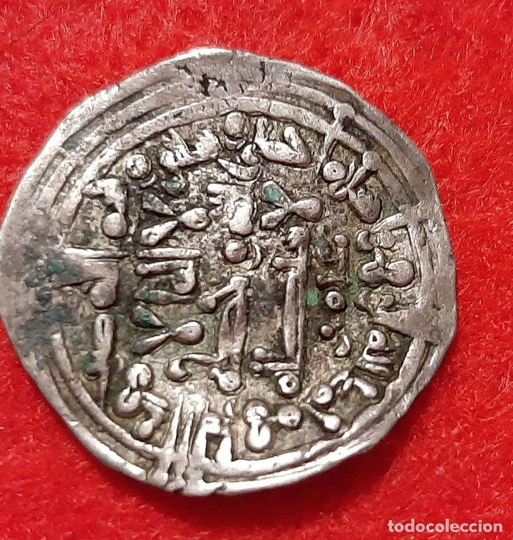 Monedas hispano árabes: MONEDA PLATA HISPANO ARABE ORIGINAL C2 - Foto 2 - 243405155