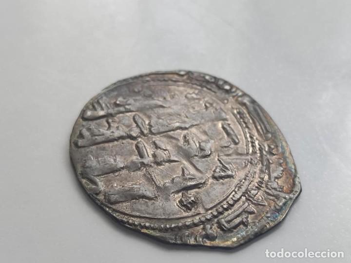 Monedas hispano árabes: Dirham - UMAYYAD: Abd Al-Rahman II Ibn Al-Hakam (822-852), (1,95g), ceca de Al-Andalus, 218 AH. Est - Foto 2 - 254493065