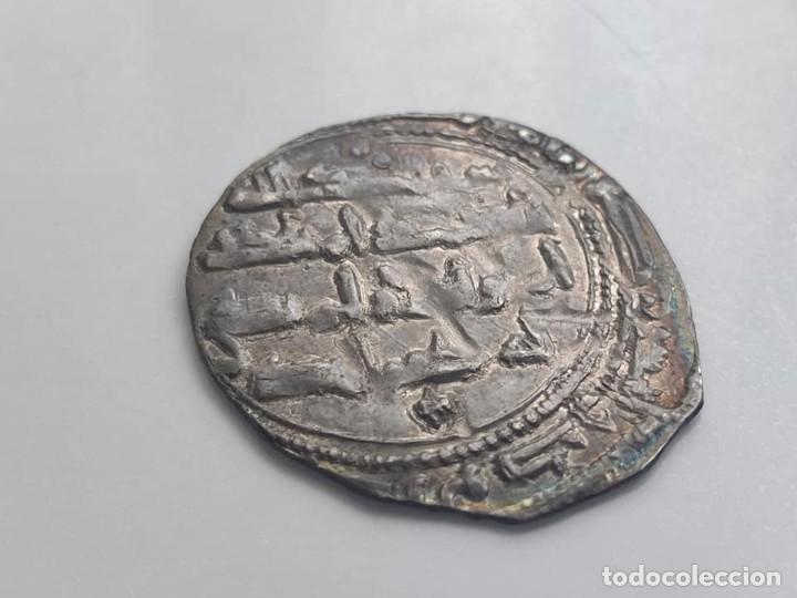 Monedas hispano árabes: Dirham - UMAYYAD: Abd Al-Rahman II Ibn Al-Hakam (822-852), (1,95g), ceca de Al-Andalus, 218 AH. Est - Foto 8 - 254493065