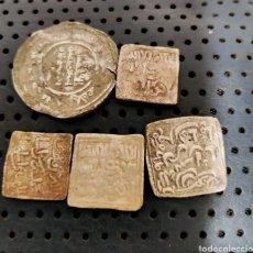Moedas hispano árabes: 5 ARABES DE PLATA. Lote 262002185