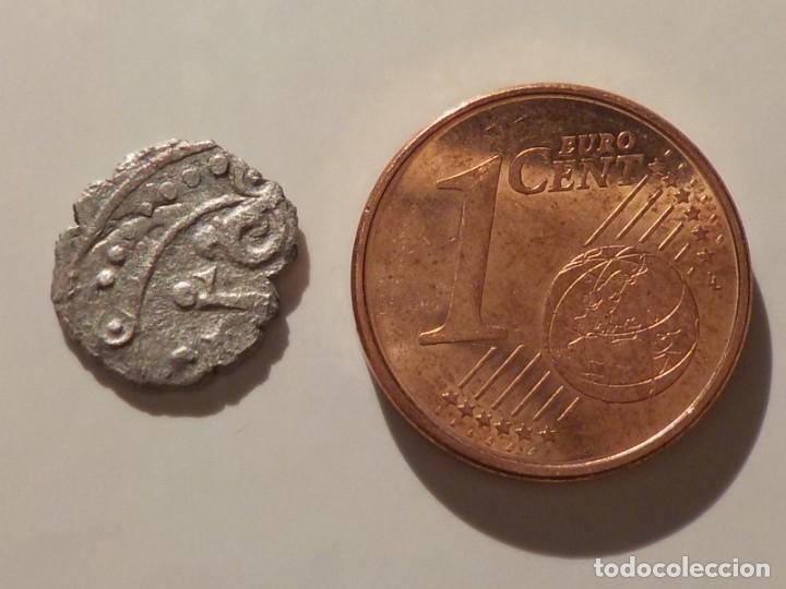Monedas hispano árabes: Taifa de Toledo - Valencia. Al-Qadir Yahya II. 1/12 Dirham - Foto 3 - 266359168