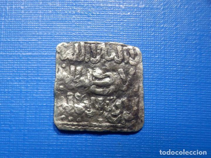 Monedas hispano árabes: Hiapano Arabe - Almomohades - Dirhem Plata - Cuadrado - Sin determinar - - Foto 2 - 266786844