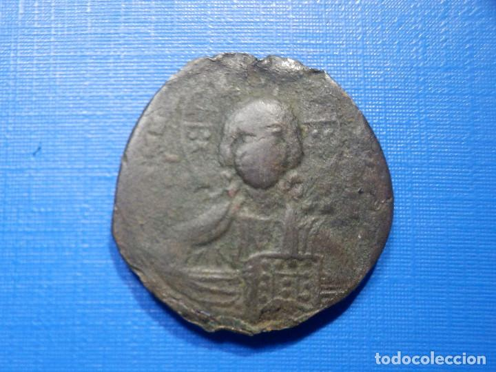 IMPERIO BIZANTINO - FOLLIS - COSTANTINOPLA - BASILIO II -CONSTANTINO VIII - AÑOS 989-1028 - 27 MM (Numismática - Hispania Antigua - Hispano Árabes)