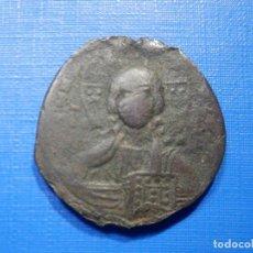Monedas hispano árabes: IMPERIO BIZANTINO - FOLLIS - COSTANTINOPLA - BASILIO II -CONSTANTINO VIII - AÑOS 989-1028 - 27 MM. Lote 266797399
