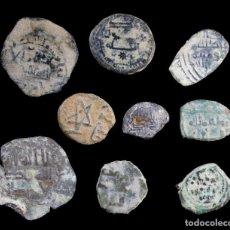 Monedas hispano árabes: LOTE DE 9 MONEDAS HISPANO ARABES.. Lote 268848989