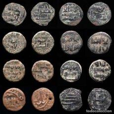 Monedas hispano árabes: ESPAÑA - AL-ANDALUS LOTE DE 8 FELUSES (LOTE922). Lote 269033059
