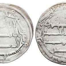 Monedas hispano árabes: *** BONITO DIRHAM DE HARUN AL-RASHID. 183 H. MADINAT AL-SALAM. ABBASIDAS ***. Lote 277435828