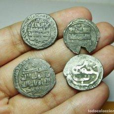 Monnaies hispano-arabes: INTERESANTE LOTE DE MONEDAS ÁRABES. TODAS DE PLATA. POR IDENTIFICAR.. Lote 286347558