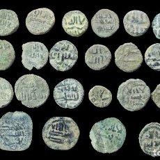 Monedas hispano árabes: LOTE DE 30 MONEDAS HISPANO ARABES.. Lote 290041003