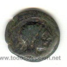 Monedas ibéricas: MUY BONITO SEMIS DE CASTULO CAZLONA JAEN PRECIOSA PATINA VERDE ESMERALDA 50 ANTES DE CRISTO. Lote 27013780