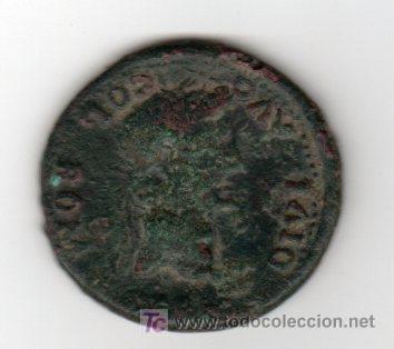 DUPONDIO. COLONIA ROMILA. REINADO DE TIBERIO, 25 GRAMOS (Numismática - Hispania Antigua - Moneda Ibérica no Romanas)