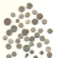 Monedas ibéricas: BARATO LOTE DE 47 PIEZAS DIVERSAS ÉPOCAS. A CLASIFICAR. CONSERVACIONES FLOJAS. LAS DE LA FOTO.. Lote 30704533