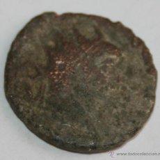Monedas ibéricas: ANTONINIANO CON BAÑO DE PLATA - MONEDA ROMANA FALSA DE EPOCA . Lote 42655853