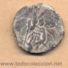 Monedas ibéricas: BRO 165 MEDALLA , MONEDA O MARCHAMO ANVERSO FIGURA DE GUERRERO CON ESTANDARTE MEDIDAS SOBRE 18 MM. Lote 44207239