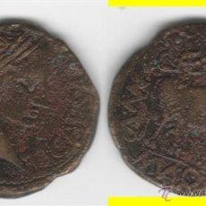 Monedas ibéricas: IBERICO: AS TURIASO TIBERIO --- AB-2452. Lote 46024843