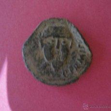 Monedas ibéricas: ANTIGUO AS DE MERIDA EMERITA CABEZA BARBADA DE FRENTE. Lote 49045028