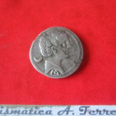 Monedas ibéricas: HISPANIA ANTIGUA. DENARIO DE SECOBIRICES.120/30 AC. #MN. Lote 49323976