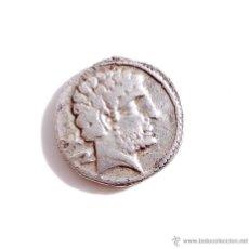 Monedas ibéricas: DENARIO IBERICO MBC - BOLSKAN - MONEDA ACUÑADA EN PLATA - EN LA ACTUALIDAD LA CIUDAD DE HUESCA. Lote 54146984