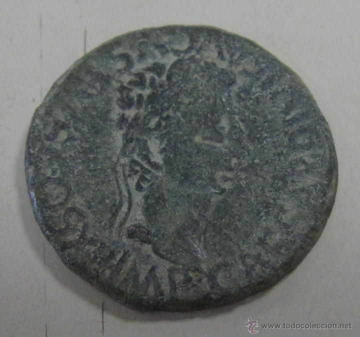 CELSA. AS DE AUGUSTO. VER FOTOS (Numismática - Hispania Antigua - Moneda Ibérica no Romanas)