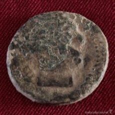 Monedas ibéricas: AS DE TITIACOS VARIANTE CABEZA BARBADA. Lote 58407593