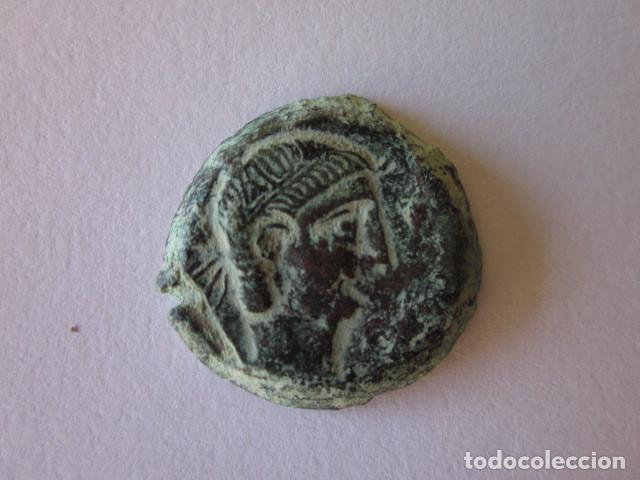AS DE CÁSTULO. ACUÑACIÓN ESCASA. MUY BONITO. (Numismática - Hispania Antigua - Moneda Ibérica no Romanas)