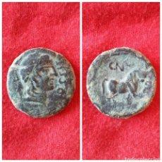 Monedas ibéricas: MONEDA IBÉRICA SEMIS DE CASTULO CAZORLA JAÉN 180 A.C 27 D.C. Lote 72804047