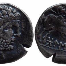 Monedas ibéricas: BOLSKAN DENARIO. Lote 74982491