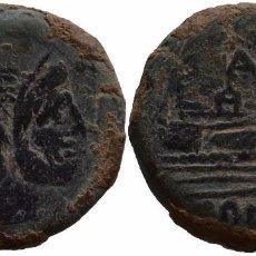 Monedas ibéricas: REPUBLICA ROMANA AS CON MONOGRAMA. Lote 79033457