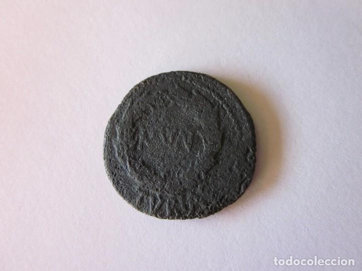 Monedas ibéricas: As de Turiaso. Láurea, Mun Tur. - Foto 2 - 85219332