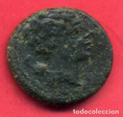 MONEDA COBRE , CUADRANTE CESE , TARRAGONA , ORIGINAL , B12 - 56 (Numismática - Hispania Antigua - Moneda Ibérica no Romanas)