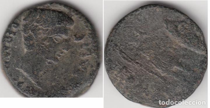 IBERICO: AS ITALICA -- AUGUSTO -- AB-1584 (Numismática - Hispania Antigua - Moneda Ibérica no Romanas)