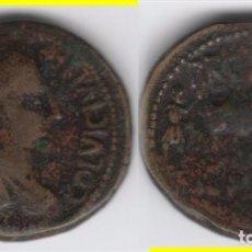 Monedas ibéricas: IBERICO: AS CELSA - VICTRIX IVLIA LEPIDA. AB-796. Lote 96702847