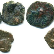 Monedas ibéricas: CASTULO, 3 CUADRANTES. Lote 97662523
